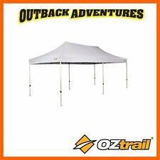 OZTRAIL COMMERCIAL DELUXE 6.0m GAZEBO WHITE 500 DENIER 6 x 3m NEW MODEL
