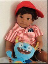 "Reborn Ethnic Biracial Baby Toddler Boy Doll ""Daniel"""