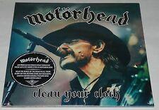 Motorhead Clean Your Clock Live DBL Picture Discs LP RSD 17 Vinyl New - Official