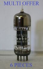 6829 USA USED TESTED DOUBLE TRIODE 6 PIECES TUBE  VALVE
