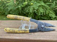 Stanley 84 203 Slim Wire Screw Stud Cutter Crimper Splicer Stripper Pliers Usa