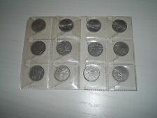 lotto 12 monete 2 lire ape anni 1953 1954 1955 1957 1959 1970 ottime condizioni