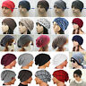 Men Women Warm Winter Baggy Hat Knit Ski Beanie Skull Slouch Oversize Cap Unisex