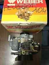 Carburatore Weber Peugeot 104 32 IBP 0/101 NUOVO ORIGINALE New carburetor