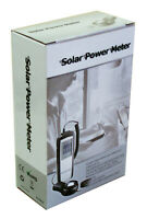 DT-1307 Sun Power Solar Energy Sunlight BTU Watt per sq. Meter Digital Meter NEW