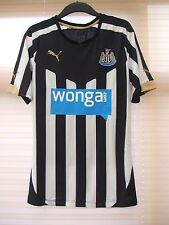 New Authentic Newcastle United 2014/15 Home Shirt PLAYER ISSUE Large  Tight Fit