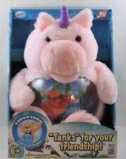 Fish Tank Betta Plush Pink Unicorn New!!