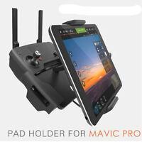 "PGY 4-12 "" Pad Phone Aluminum Halter Halterung Für DJI Mavic Pro Spark Remote DE"