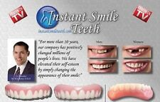 Instant Smile Medium Fake Teeth Novelty Item Beauty Top & Bottom Veneer Set