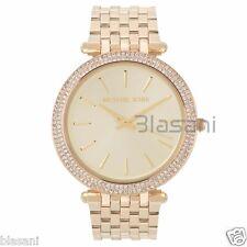 Michael Kors Original MK3191 Womens Gold Stainless Steel Watch
