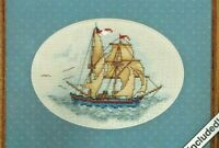 WeekenderS Counted Cross Stitch Kit Setting Sail #03508 Factory sealed package