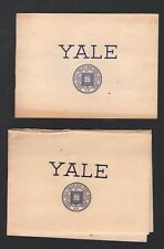 Cole PORTER (Composer/Lyricist): Collection of Yale Programs and Ephemera