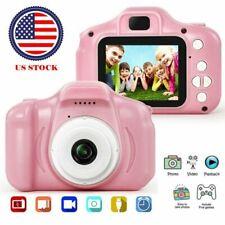 "Kids Children 1080P Digital Camera 2.0"" Lcd Hd Mini Pink Camera Perfect Gift Toy"