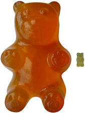 Giant Haribo Gummy Bear (Clear Pineapple) by Haribomb