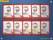 Panini★EURO 2008 EM 08★ 10x rote Tüten/packets/bustine/pochettes - sealed