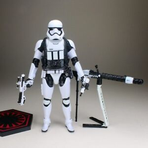 "Star Wars Black Series Last Jedi Frist Order Stormtrooper Gunner 6"" Figure UK"