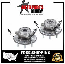 2- Silverado 2500HD 3500HD Front Wheel Hub Bearing Assembly 4WD Dual Rear Wheel
