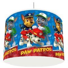 BLUE PAW PATROL BOYS LIGHT LAMPSHADE KIDS ROOM matches duvet set   FREE P&P