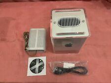 Apple Power Macintosh G4 Cube M7886 450mhz/1.128GB/256GB HDD+Power Supply.Tested