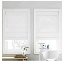 """Real Simple Cordless Roman Cellular Shade - White - Size:32""""x72"""""""