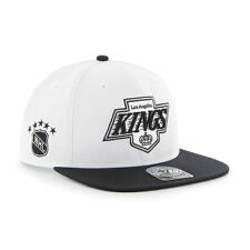 Los Angeles Kings LA - '47 Brand NHL Vintage Hockey Snapback Hat Cap - Flat Brim