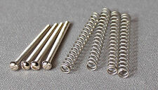 Humbucking Pickup Mounting Slotted Screws & Springs Fits Gibson Duncan Dimarzio