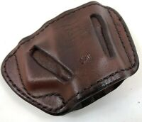 NEW DON HUME Leather Slide Belt Right Hand Pistol Holster Sig Sauer 226 220 228