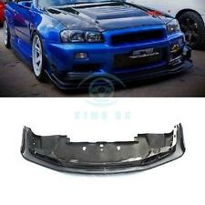 Carbon For Nissan Skyline R34 GTR 1999-02 Front Lip Bumper with Undertray