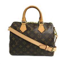 LOUIS VUITTON Speedy Bandouliere 25 2way Shoulder Bag M41113 Monogram Used LV
