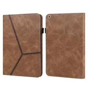 For iPad 5th 6th 7th 8th Gen Air 123 Mini Smart Leather w/ Hand Strap Case Cover