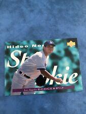 1995 HIDEO NOMO UPPER DECK STAR ROOKIE CARD RC #226 LA DODGERS JAPAN NOMOMANIA