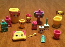 Shopkins Petkins Happy Places Bathing Bunny Decorator Pack Figures - You Pick!