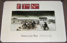 "IN TUA NUA SUPERB U.K. RECORD COMPANY PROMO POSTER ""HEAVEN CAN WAIT"" SINGLE 1987"