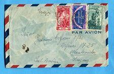 1952 P.A.CAMPIDOGLIO £.100 + ALTRI su AEROGRAMMA per l'URUGUAY   (247175)