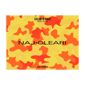 NAJ OLEARI SUN POWDER , KABUKI BRUSH GIFT SET * CHOOSE * NEW