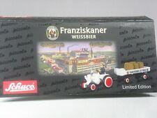 Class: Schuco Piccolo Lanz Bulldog with Trailer Franciscan Wheat Beer Boxed
