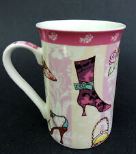 Coffee Mug Diva Fave Things Shoes Purses Creative Tops Northamptonshire UK 10oz