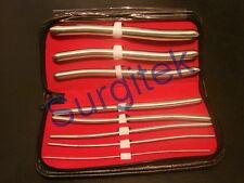Urethral Hegar Sounds Surgical Obe Gyne Urethra Instruments 8 Piece Set Kit CE