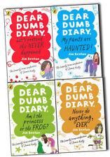 Dear Dumb Diary  Collection Jim Benton 4 Books Set Pack Am I the Princess NEW