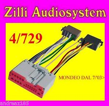 CAVO ISO MONTAGGIO AUTORADIO FORD MONDEO DAL 7/03> NEW 4/729 By Phonocar
