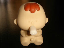 Japanese Dream Take-Apart Beige Coloured Baby Rubber Erasers Made in Japan