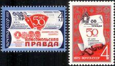 Russia 1975 Bambini Giornale/PIONIERI/Stampa Press/scrittura Set 2 V (n45007)
