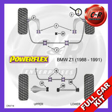 BMW Z1 (1988 - 1991) Adj Rear Arm Kit Powerflex Complete Bush Kit