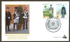 Vatican City Sc# 1622-3, Bicentenary of the Gendarmerie Corps, First Day Cover