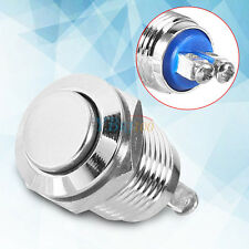 12mm Waterproof Metal Start Horn Button Switch Electrical-Momentary Push-Button