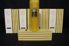 Lot of 9 NEW Vintage COLONIAL CANDLE of CAPE COD 3x9 Lemonade Scented Pillar NOS