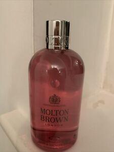 MOLTON BROWN-- Delicious Rhubarb & Rose Bath & Shower Gel--300ml--NEW/UNBOXED