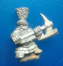 MM11/6 dwarf command champion dwarvern marauder miniatures via citadel he axe