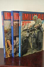Lot 5 vol.- Armes militaria - Spécial n°3 - 4 - 5(1987) -Spécial n° 20-21 (1994)