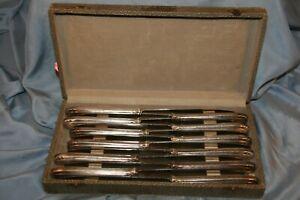 lot de 12 couteaux de table anciens lames inox